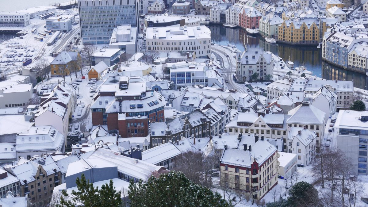 オーロラの旅、、クルーズフェリーで、冬のノルウェー